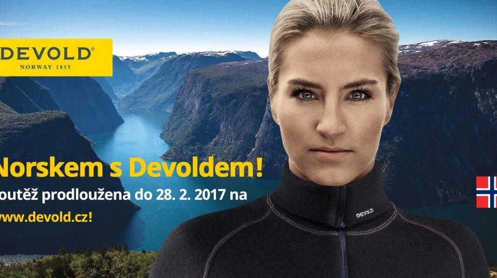 Prodloužení soutěže Norskem s Devoldem! 2