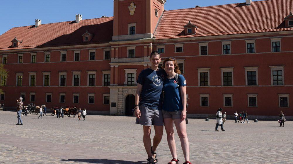 Zelená Varšava s Devoldem 2