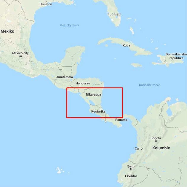 Kostarika a Nikaragua očima Lukáše Kreise 3